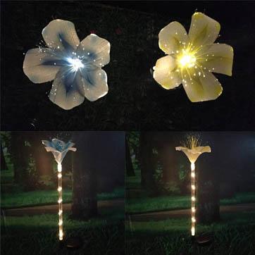 оптична светлина за декорация на цветя