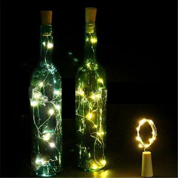 Коркова бутилка Светлинен стринг
