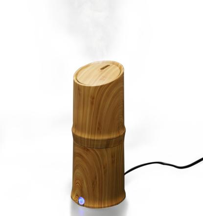 300ml Cool Mist Овлажнител Ултразвуков аромат Етерично масло Дифузор за офис Спалня Спалня Всекидневна Проучване Йога Спа - Дървен Зърно